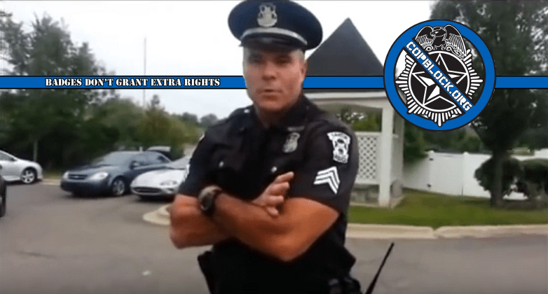 "Michigan Police Harass Black Man Claiming He ""Fit the Description"" of a White Man"